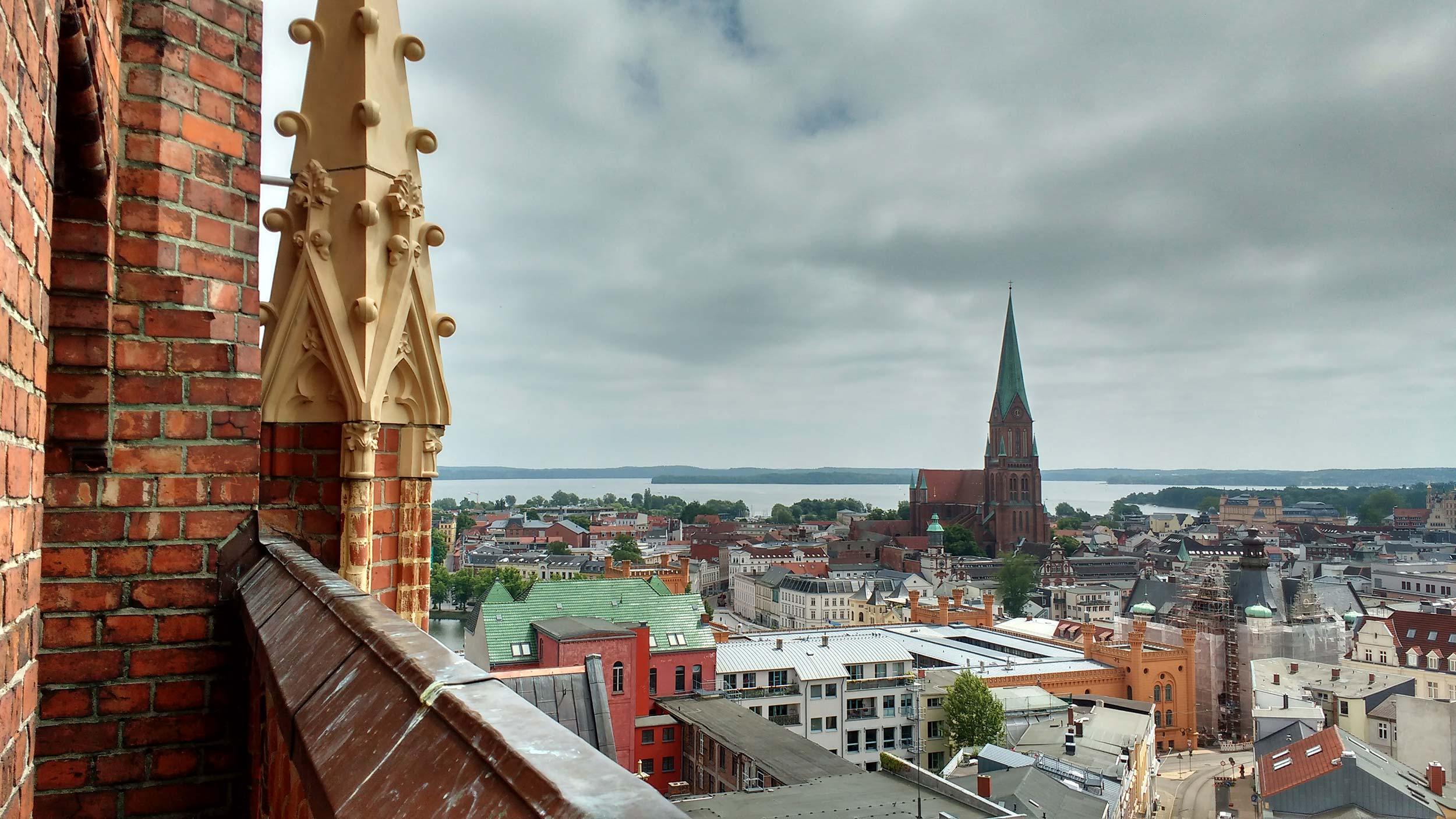 Die Landeshauptstadt von Mecklenburg-Vorpommern