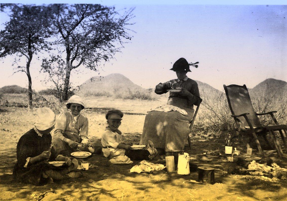 Hogo Voss - Kaiserlicher Landvermesser in Deutsch Südwestafrika